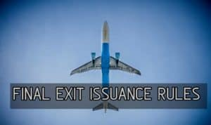 Final Exit Visa Issuance And Cancellation Rules in Saudi1