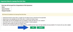 How To Issue Final Exit Visa For Your Family In Saudi Arabia