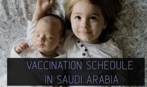 Saudi vaccination schedule vaccination cost inside Saudi Arabia