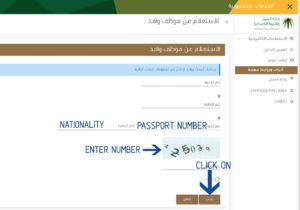 how to check iqama status with border number2