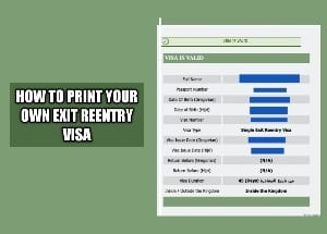 How to print your own exit reentry visa online in Saudi
