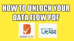 how to remove password from your data flow pdf