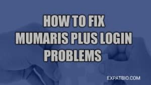 Mumaris plus login problems and how to fix