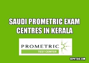 Saudi Prometric exam centres in Kerala
