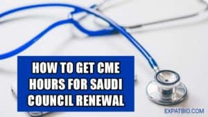 online cme accredited by saudi council