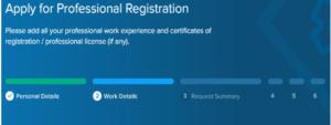 professional registration in mumaris plus saudi council