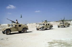 Saudi arabia started an effort to establish a U.S. Military base in Al-kharj-min