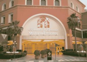 Mall of the emirates:a fantastic place for shopping,ski dubai and cinemas
