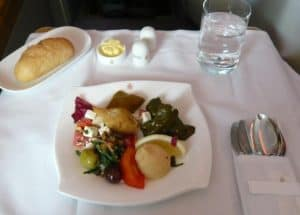 Emirates a380 business class review: luxury,seat map,meals,bar & more
