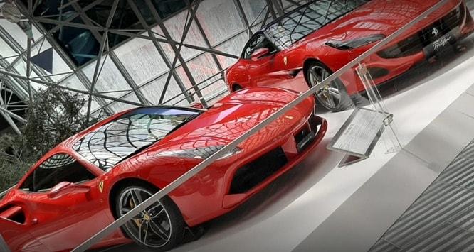 Abu Dhabi Ferrari world cars