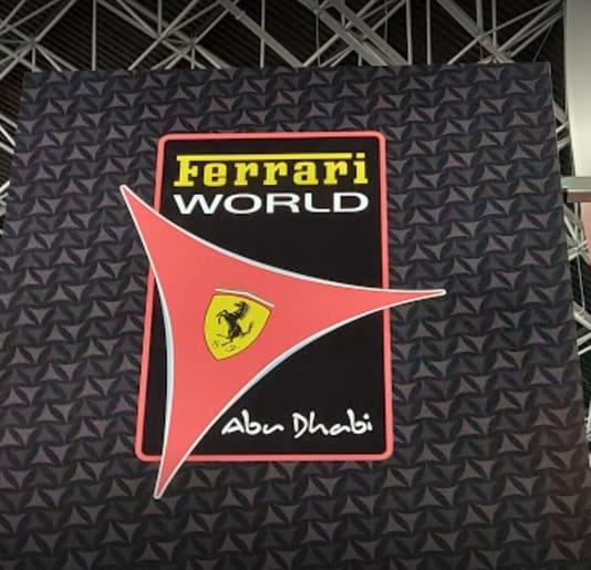 Abu Dhabi Ferrari world logo