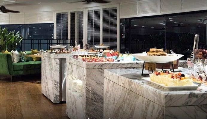Al Dawaar revolving restaurant buffet dubai