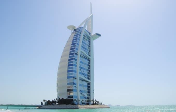Burj Al Arab amazing view