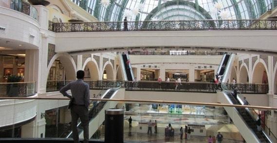 Dubai Mall inside view