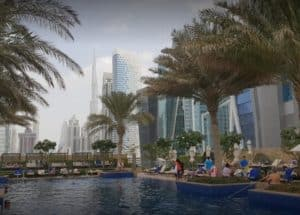 JW Marriott Marquis Hotel in Dubai-Enjoy saray spa,deluxe rooms