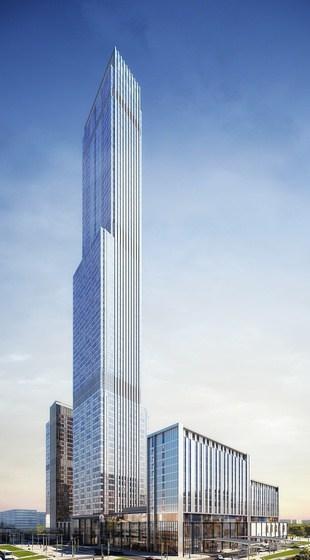 Abu Dhabi Plaza upcoming tall building