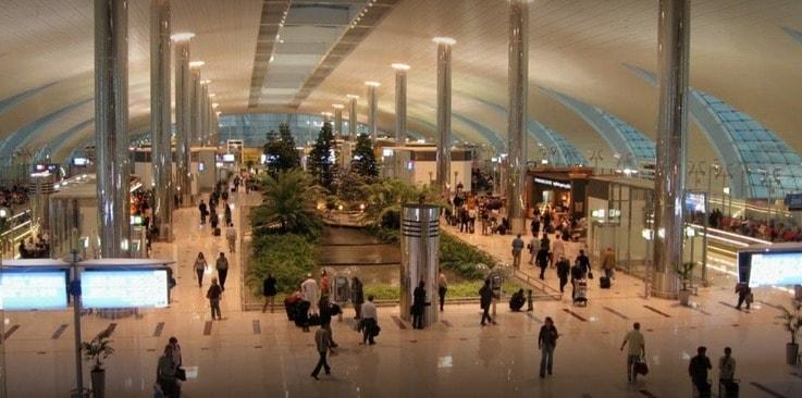 Dubai international airport inside