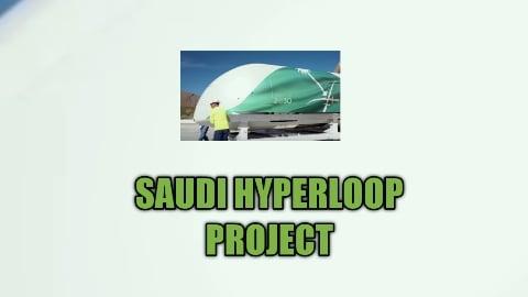 Saudi Hyperloop train