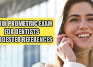 Saudi Prometric Examination For Dentists:Reference books to read